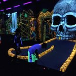 blacklight mini golf