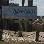 Entering Tybee Island for family reunion lunch.......