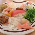 An excellent buffet especially on the weekdays for seniors.  An array of Asian foods including s