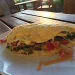 Texas Omelete Brisket & Veg !