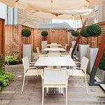 Get some fresh air and eat alfresco in our courtyard