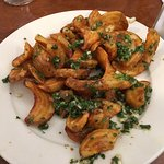 Cuban fries appetizer - chimichurri sauce