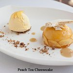 Peach Tea Cheesecake