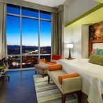 One Bedroom King Suite with gorgeous mountain and city views