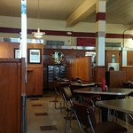 The restaurant is clean and stays true to it's historical background