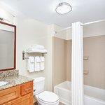 Standard Guest Bathroom with large vanity