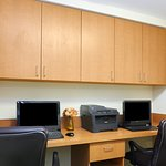 Print documents or check email in our Business Center