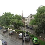 view from room, facing Royal Crescent