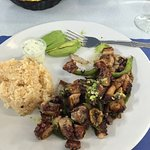 Another wonderful inexpensive meal at Mariscos Azul!!