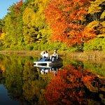 The beauty of Autumn on Bluegill Lake