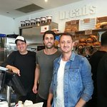 Foodies new owners. Great coffee, food & wonderful service. Try it.