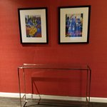 Beautiful artwork and furnishings