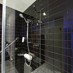 Treat yourself with an invigorating power shower