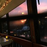 The Waterfront Restaurant Sunset!