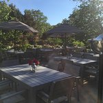 AlFresco dining at The Carriage House.