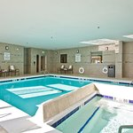 Holiday Inn Express and Suites Denver East Indoor Pool Whirlpool