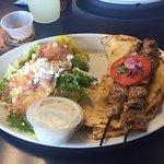 Lamb soulvaki - great taste!