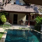 Our 2 bedroom villa with private pool