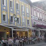 Mondsee outside dining options