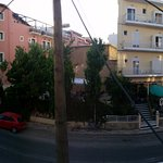 Panoramic view from our room