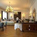 La grande sala colazione/ristorante