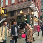 Family visit to Caffe Roma NYC