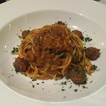 The photos do not do the food justice. The meatball spaghetti deserves a special shout out.