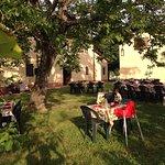 il ristorante all'esterno