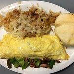 3 Egg Omelette Platter