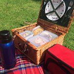 Fabulous picnic that the B&B made for us!!