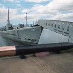 USS Bowfish and torpedo