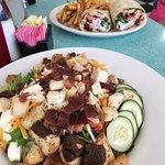 Taco Wrap & Cobb Salad