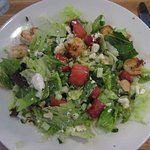 Grilled Watermelon & Shrimp Salad