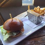 Burgers & Fries were solid fare!