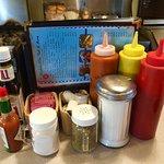 Condiments at Bob's! :)