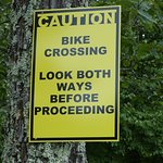 Watch out for mountain bikers