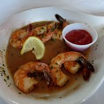 Scampi for dinner at Simon Kenton Inn