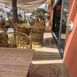 Das Café mit Blick auf Las Canterras