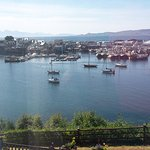 Incredible views over mallaig harbour
