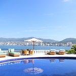 The pool at Villa Alejandra has views to kill.