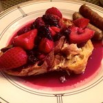 The French toast. A-freaking-mazing.