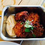 Octopus and pulled pork nuggets... YUM