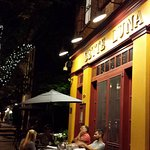 A beautiful summer night to dine outside at Sette Luna!