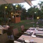Restaurante Punta Cana con barbacoa
