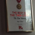 Award for best diner in the Twin Cities