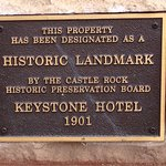 Castle Cafe started as the Keystone Hotel 1901