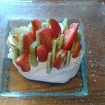 Fresh fruit Pavlova - tasted as good as it looked