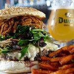 Kobe Burger & Duvel