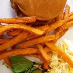 Pulled Pork & Sweet Potatoe Fries