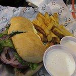 The Stix burger